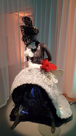 La robe de Galina Mihaleva - Projet tranquillitie - ©No Fake In My News
