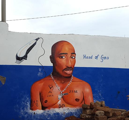 """Hand of god"" par Adesir - Bénin- ©No Fake In My News"
