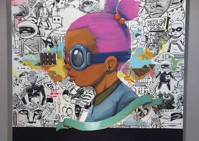 """Best of luck "" de Hebru Brantley"