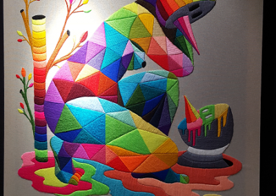 """Mother's mirage"" de OKUDA"