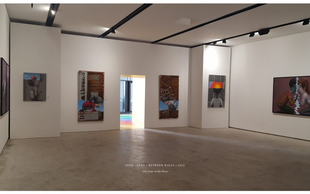 Expo « Between walls » de SETH : l'antre de deux mondes