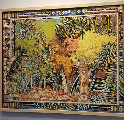 Figures 1889, Planisferio, 2015 de Malala Andrialavidrazana