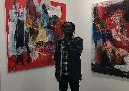 Rencontre avec l'artiste béninois Rafiy Okefolahan et ses 'Faits divers'