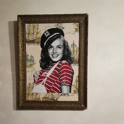 Vintage Sailor Marilyn, par Yarps