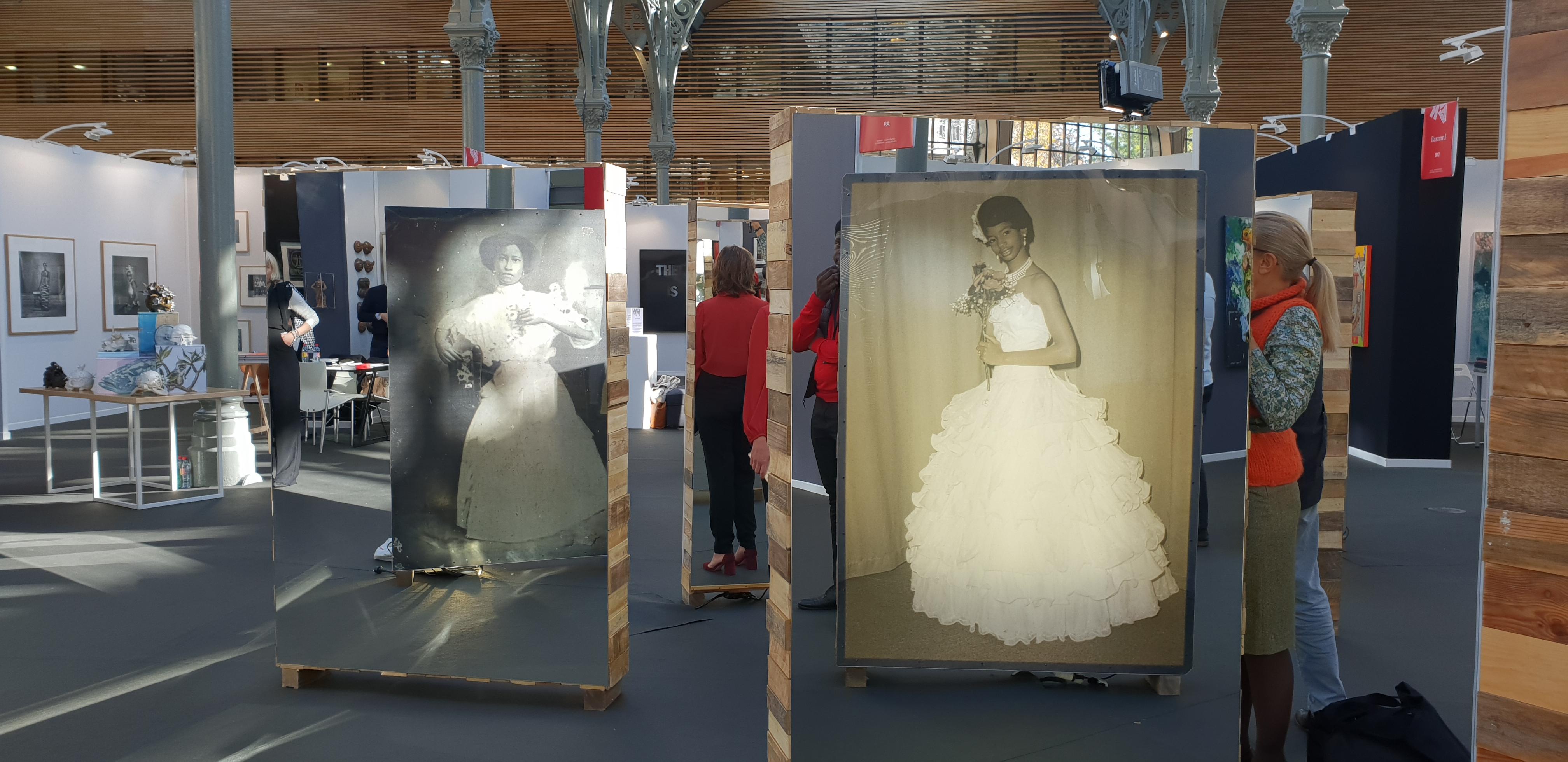 Une partie de l'installation de la série « Lo que contaba la abuela… » réalisée par l'artiste Susana Pilar - AKAA 2018 - ©No Fake In my News