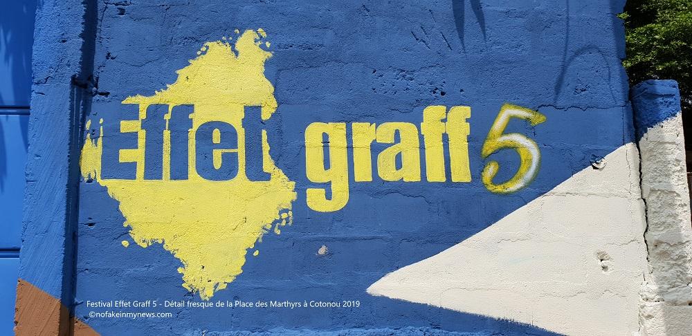 Effet Graff ancre le graffiti au Bénin