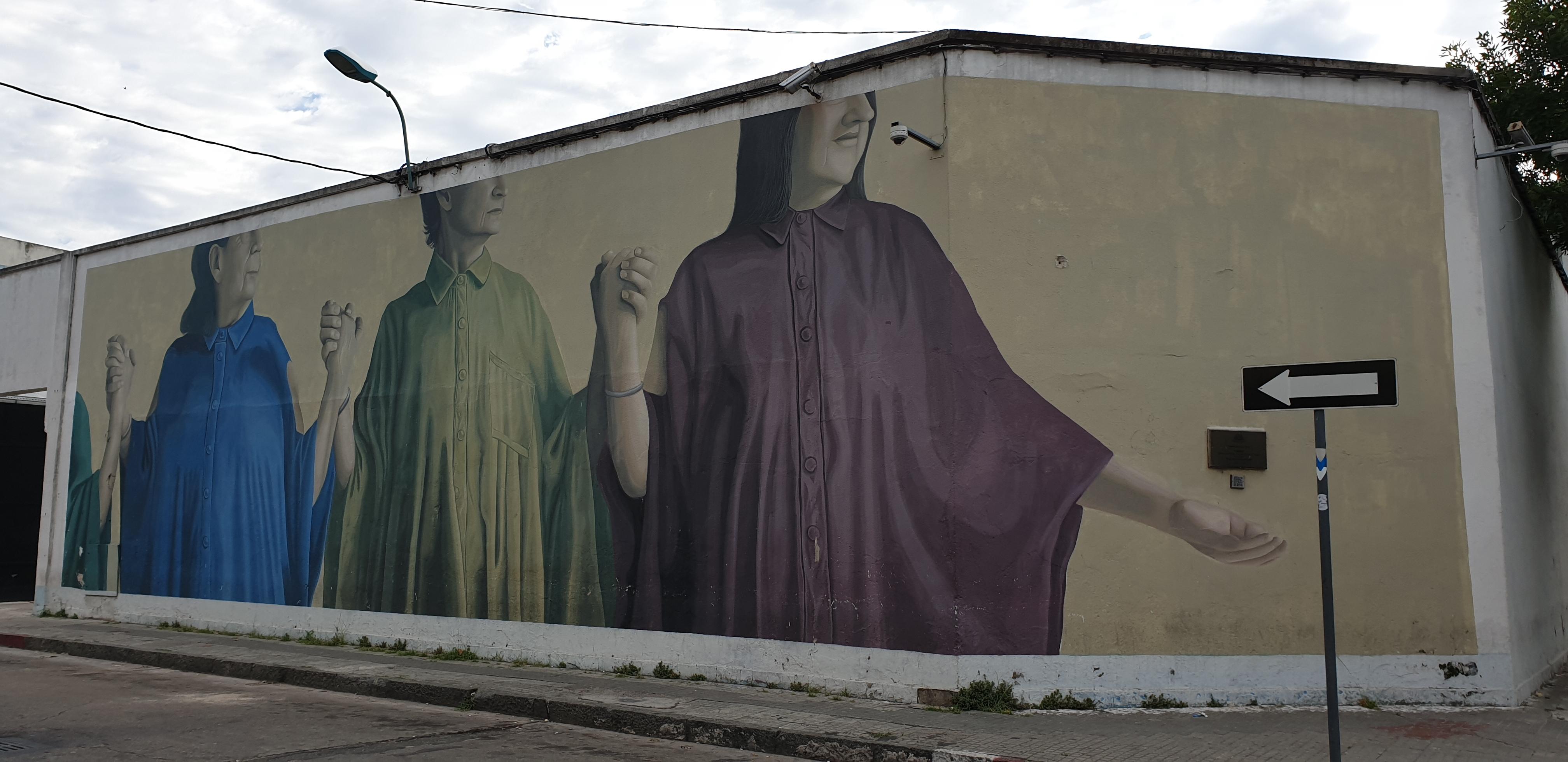 Mur réalisé par Fitz et Theic Licuado - Montevideo- Uruguay 2020 - ©nofakeinmynews.com