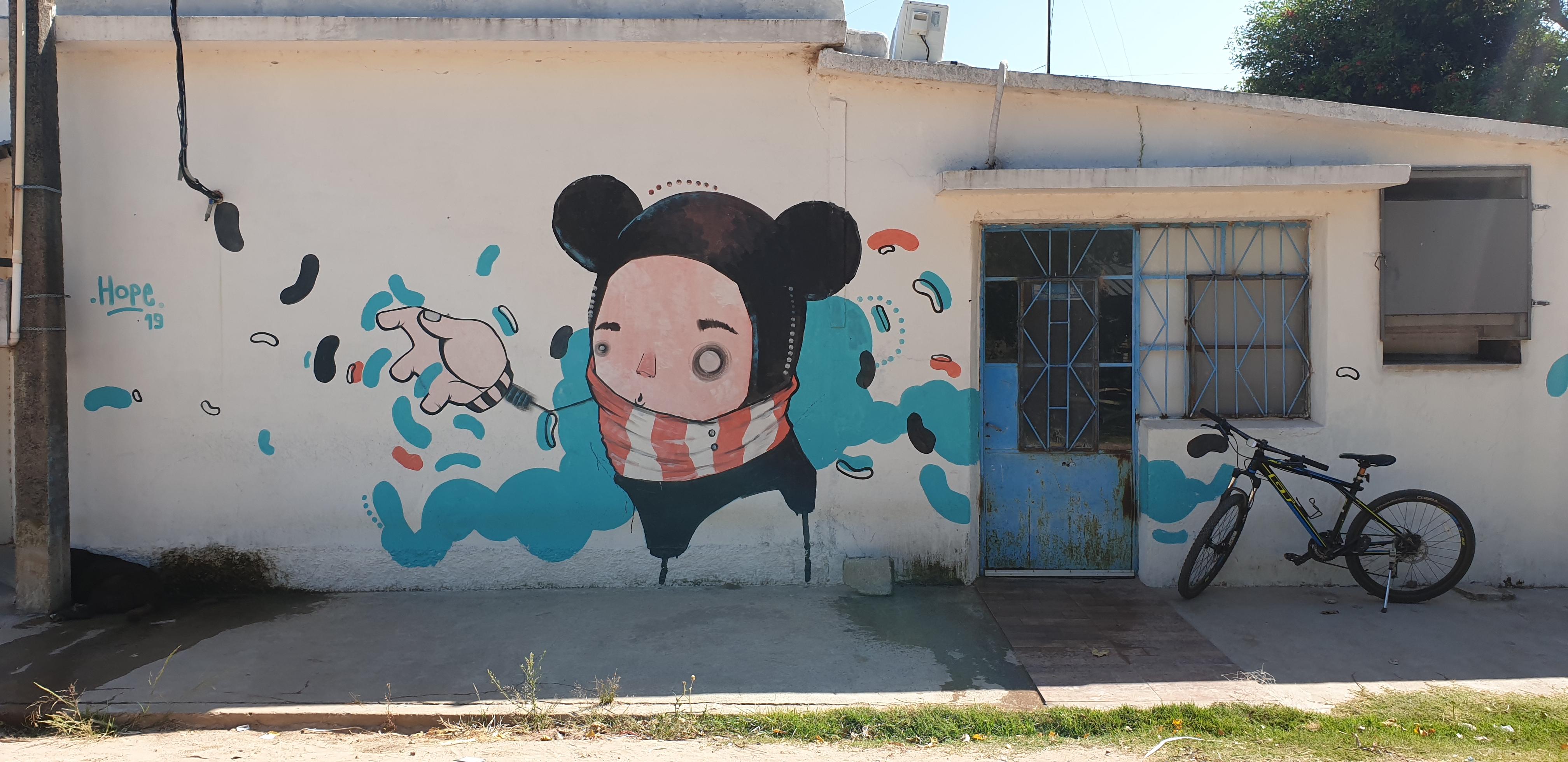 Mur réalisé par HOPE - Villa Soriano - Uruguay 2020 - ©nofakeinmynews.com