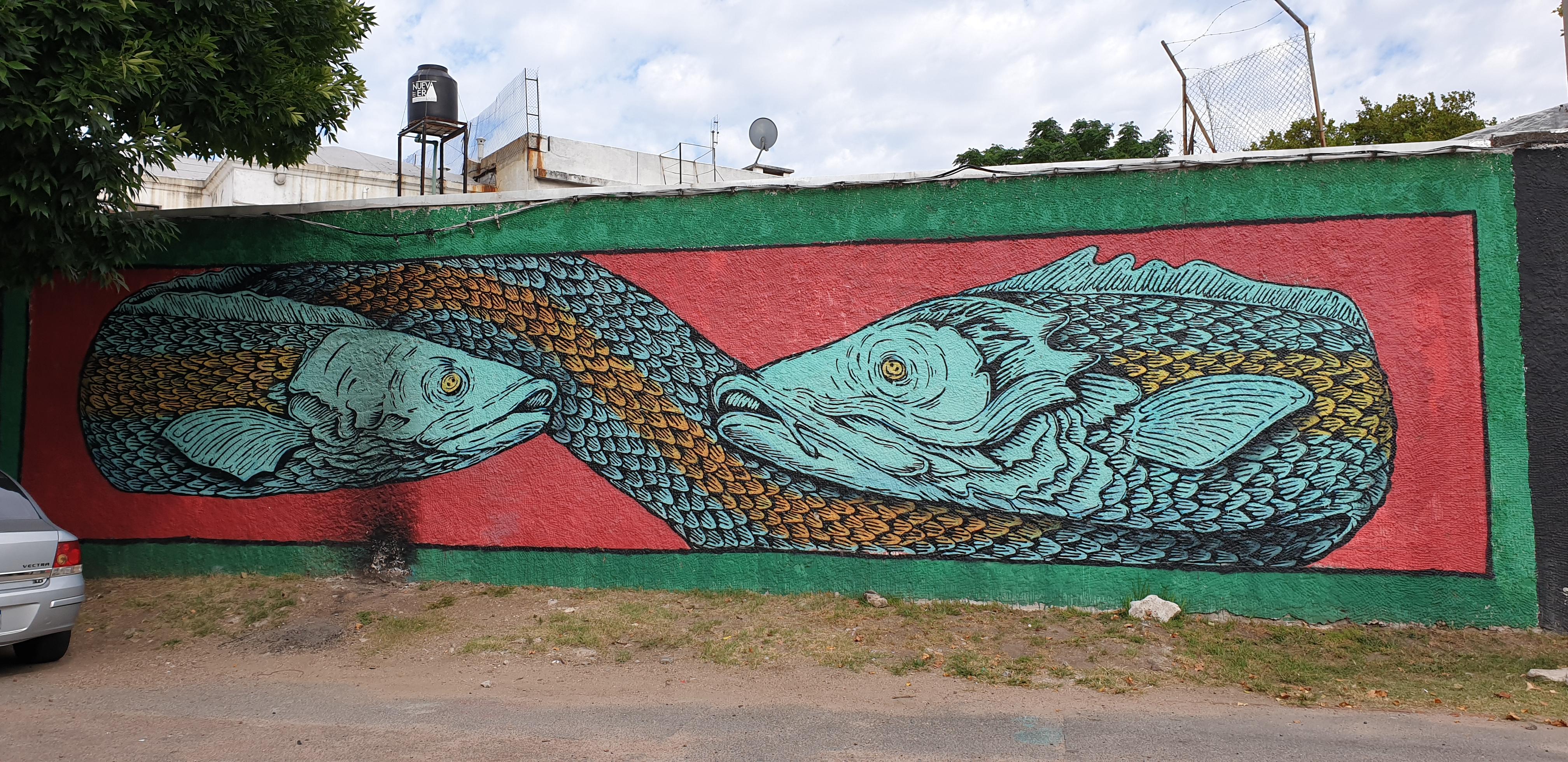 Mur réalisé par JUAN - Montevideo - Uruguay 2020 - ©nofakeinmynews.com
