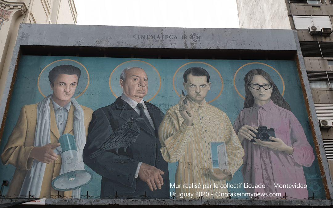 Février 2020 : « arte callejero » en Uruguay