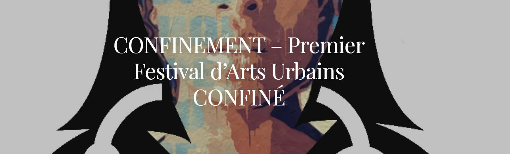 Page de Confinement  Festival d'arts urbains par Saato