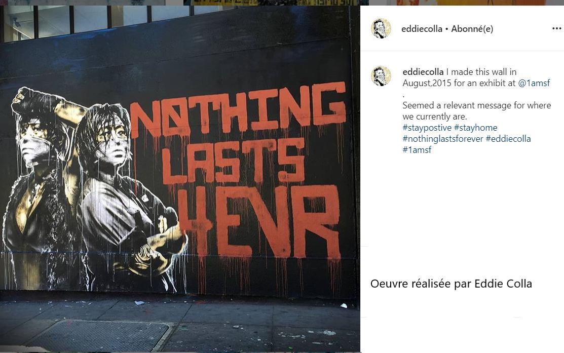 Mur réalisé en aout 2015 par Eddie Colla
