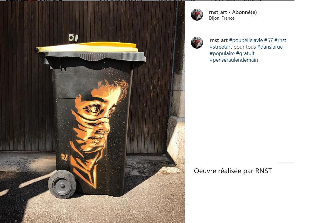 #poubellelavie 57 réalisé par RNST