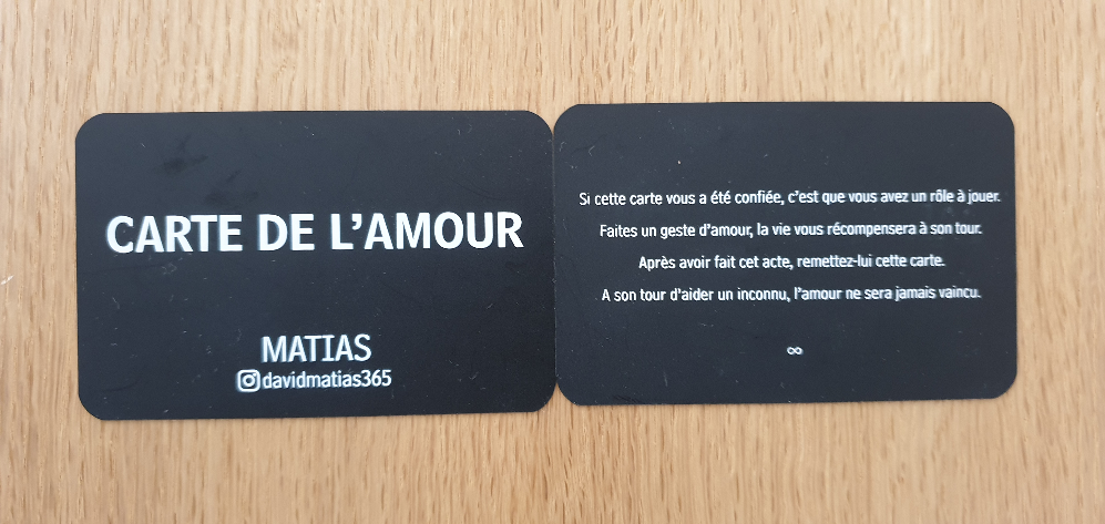 Les cartes de l'amour par David Matias 2 - Genève - Aout 2020 ©No Fake In My News