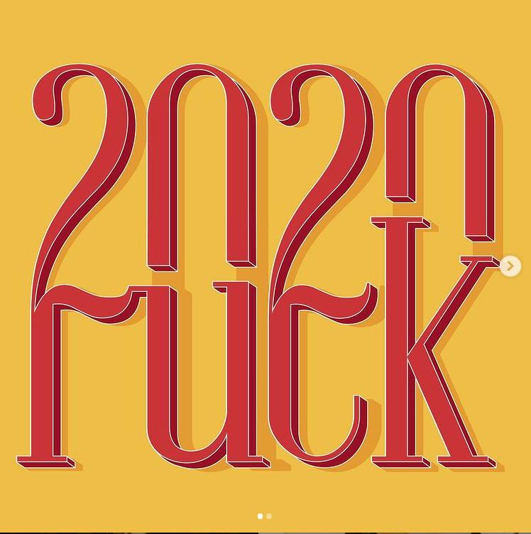 Fuck 2020 Image issue de @atr33