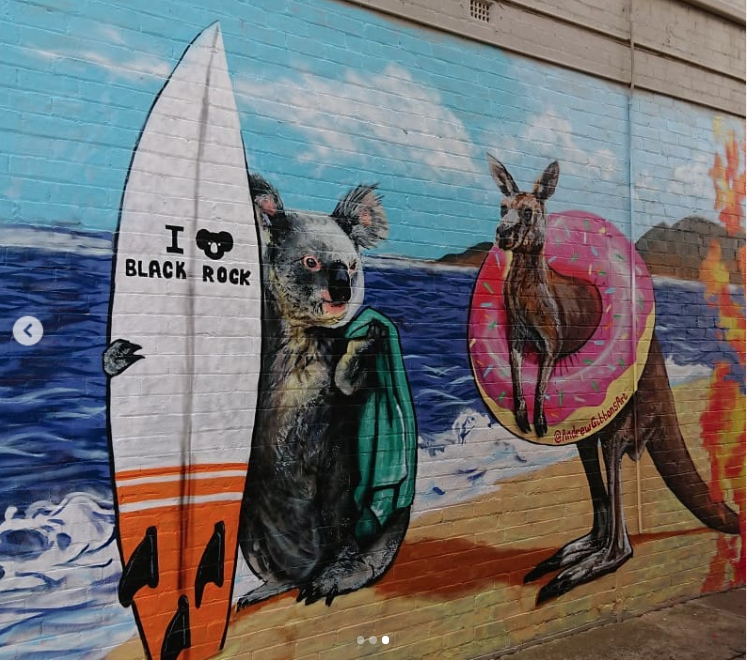 Mur réalisé par Andrew Gibbons - Image issue du compte Instagram @andrewgibbonsart