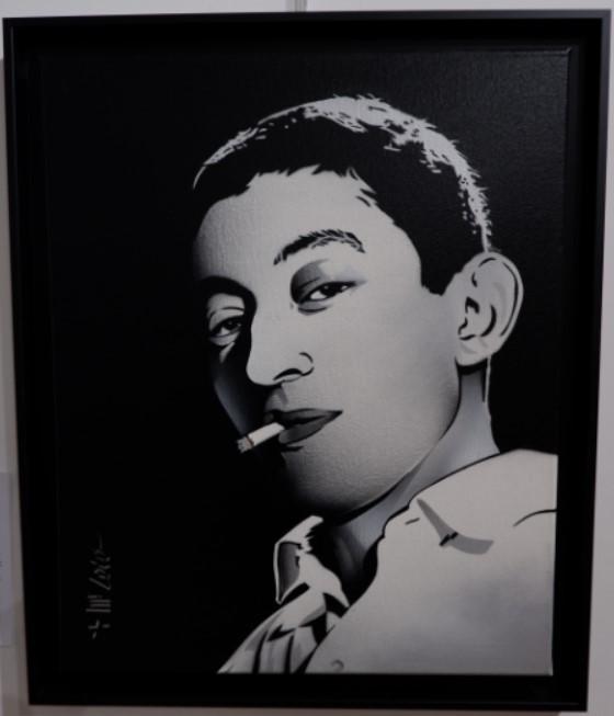 Gainsbourg a 30 ans - Par MR LOLO-  ©nofakeinmynews.com