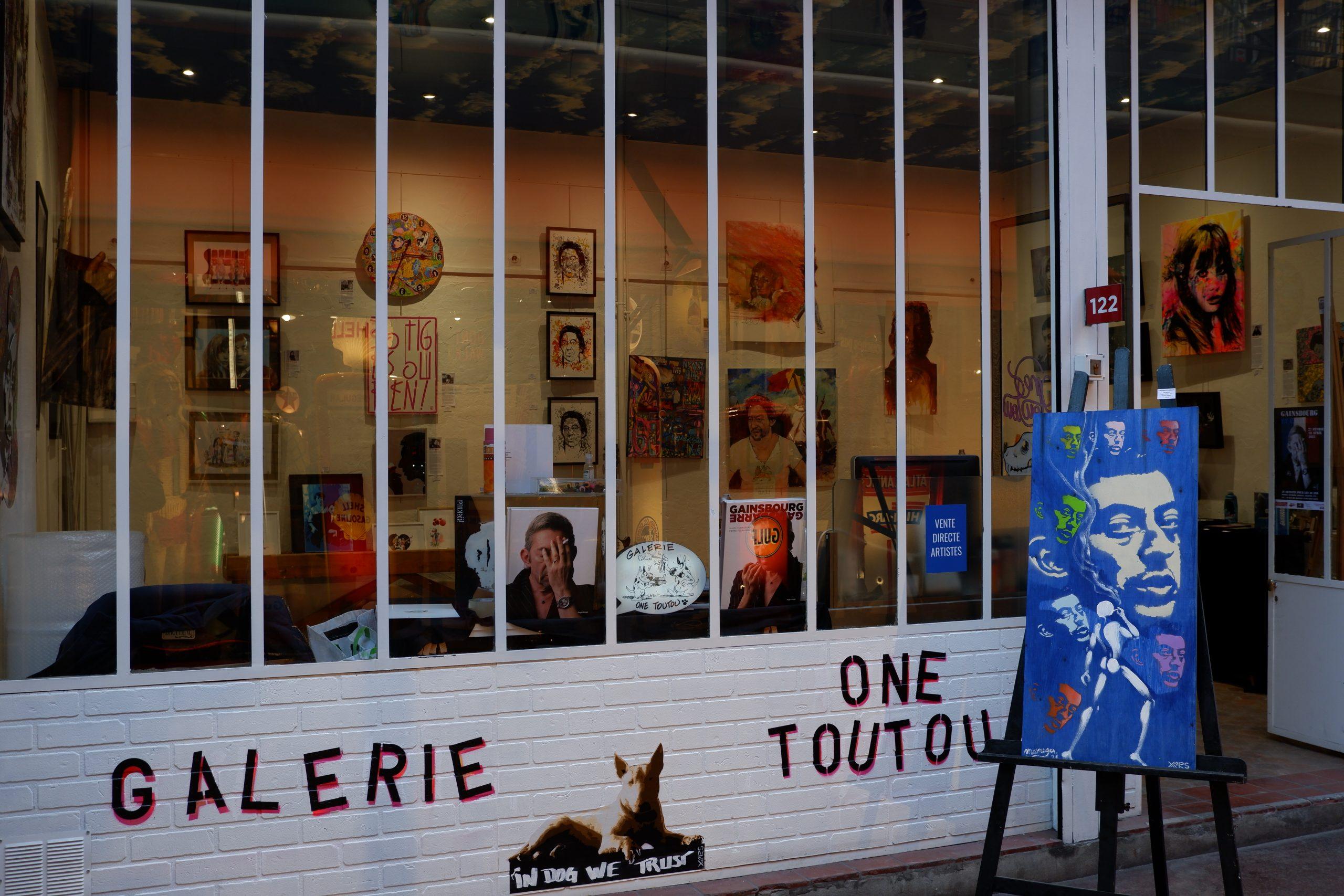 Devanture Galerie One Toutou - ©nofakeinmynews.com