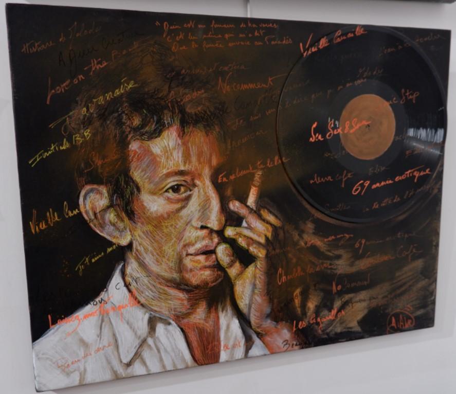 Serge Gainsbourg - Par DIANE - ©nofakeinmynews.com